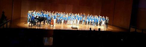 La Coral Els Matiners participa en un intercanvi amb la Federació de Cors Flamencs VFJK